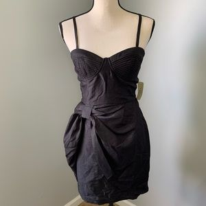 Little black dress with adjustable straps from 21
